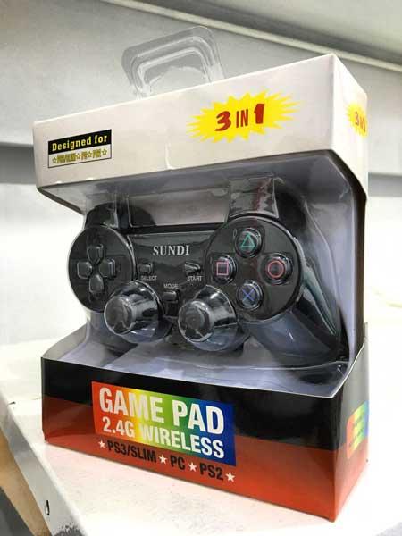 دسته بازی ساندی مدل Sundi Wireless 3in1