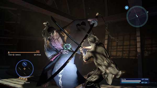 مبارزات نفس گیر در FINAL FANTASY XV ROYAL EDITION PS4
