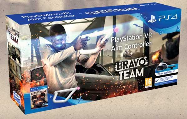 تفنگ واقعیت مجازی سونی باندل AIM BRAVO TEAM