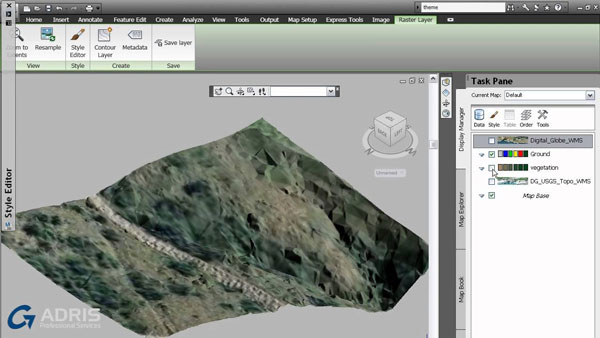 Autodesk MAP 3d در نرم افزار Autodesk Collection 2019