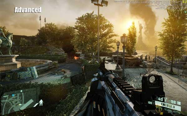 مراحل جذاب بازی Crysis 2