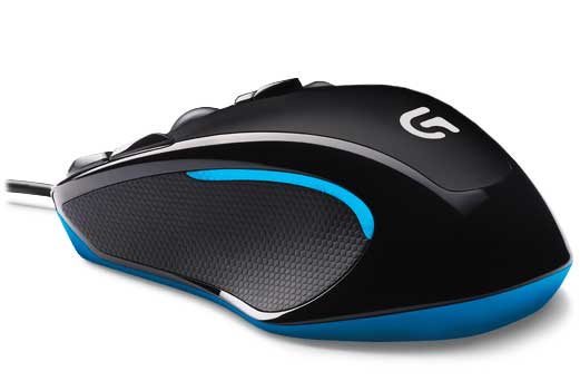 طراحی موس گیمینگ Logitech G300S Optical Gaming Mouse
