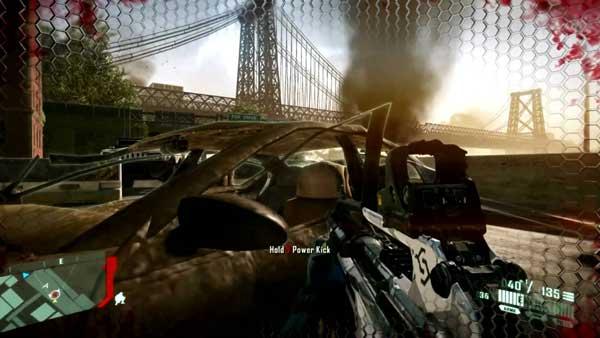 محیط های متنوع بازی Crysis 2