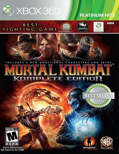 بازی Xbox 360 Mortal Kombat Komplete Edition