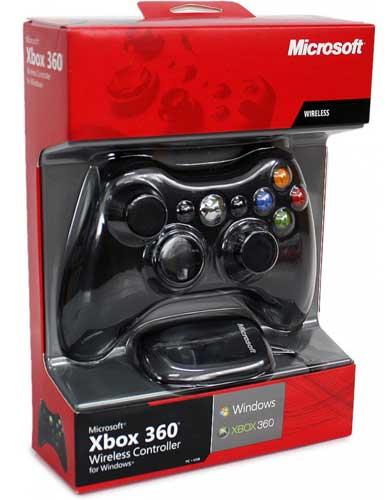 دسته بازی بی سیم Xbox 360 مایکروسافت برای کامپیوتر