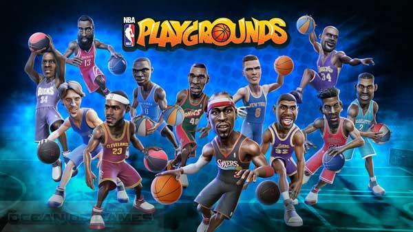 بازی بسکتبال کامپیوتر NBA Playgrounds
