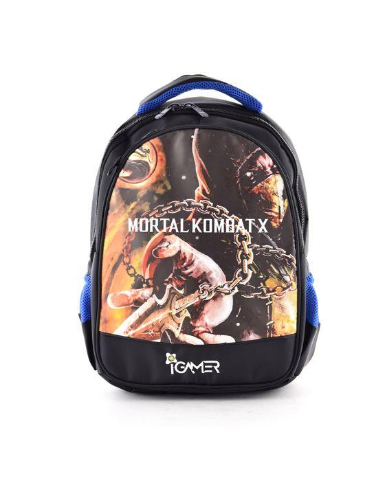 خرید کوله پشتی آی گیمر Mortal Kombat طرح دوم مناسب برای کنسول بازی