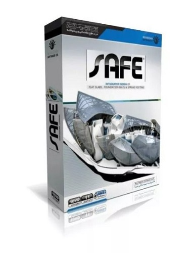 برنامه طراحی دال بتنی پس تنیده و فوندانسیون SAFE