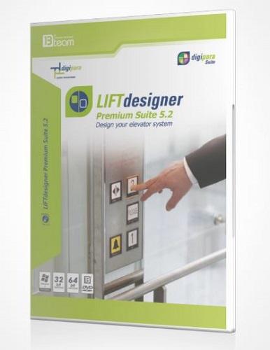 نرم افزار LIFT DESIGNER 52 PREMIUM SUITE