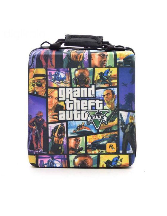 خرید کیف حمل پلی استیشن 4 Pro طرح GTA