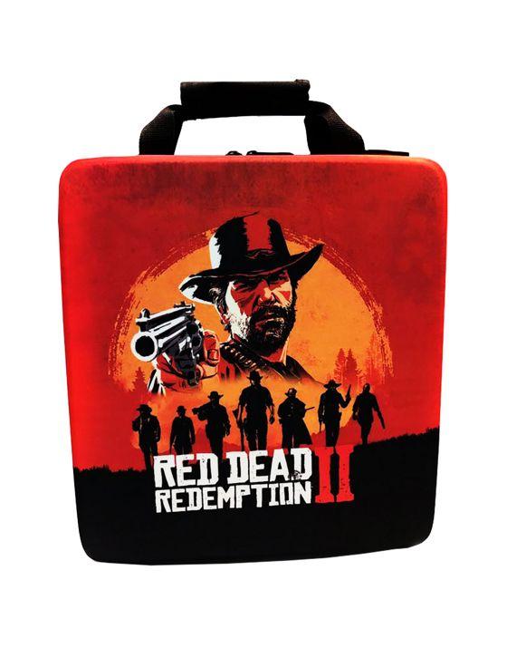 خرید کیف حمل پلی استیشن 4 Pro طرح red dead 2