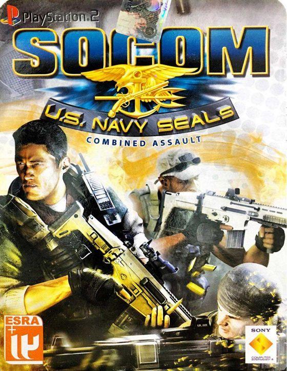 خرید بازی SOCOM US navy seals مخصوص پلی استیشن 2