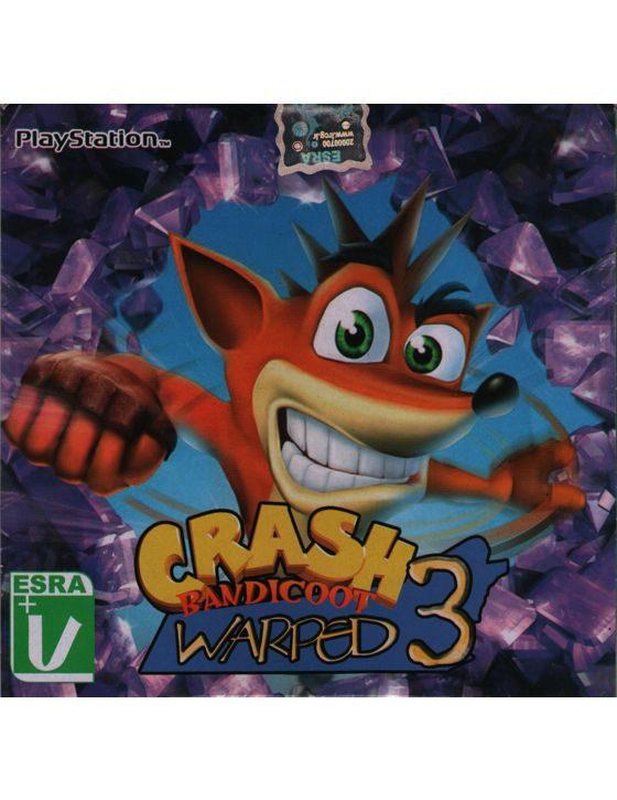 خرید بازی Crash Warped برای کنسول PS1