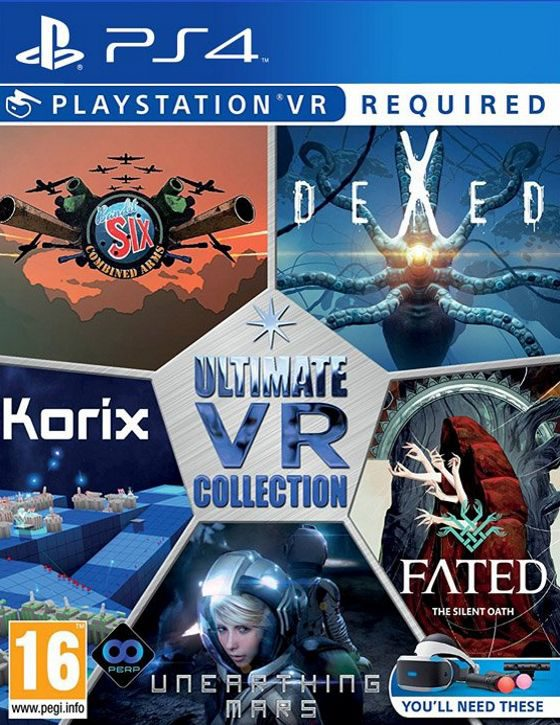 خرید The Ultimate VR Collection شامل پنج بازی مخصوص Playstation VR