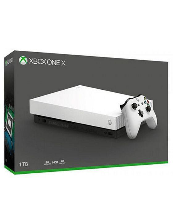خرید ایکس باکس وان ایکس 1 ترابایت سفید XBOX ONE X 1TB WHITE