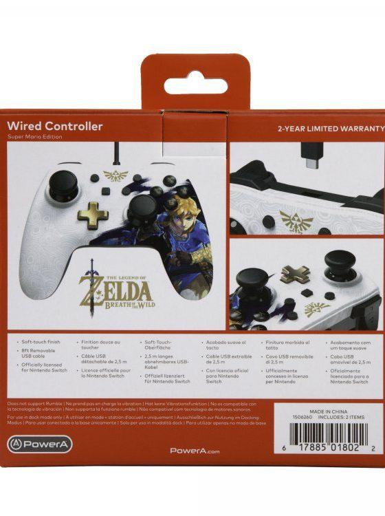 خرید کنترلر نینتندو سوییچ طرح Link Edition برند Powera