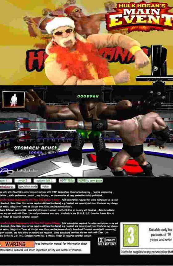 خرید بازی Hulk Hogan s Main Event برای XBOX 360
