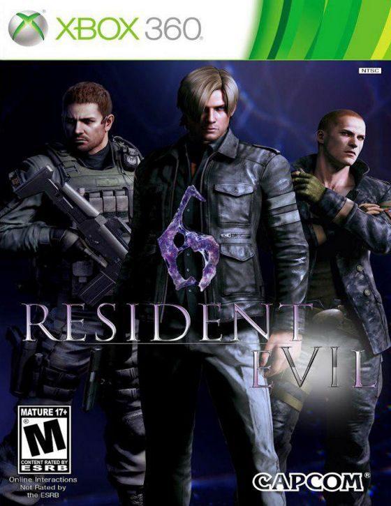 خرید بازی resident evil 6 برای کنسول xbox 360