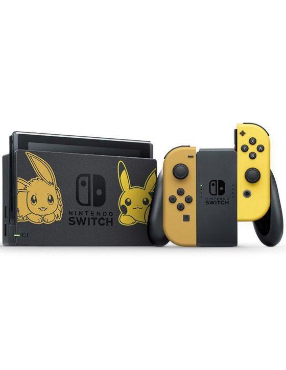 نینتندو سوییچ باندل Pokemon Let s Go Pikachu به همراه توپ پوکیمون