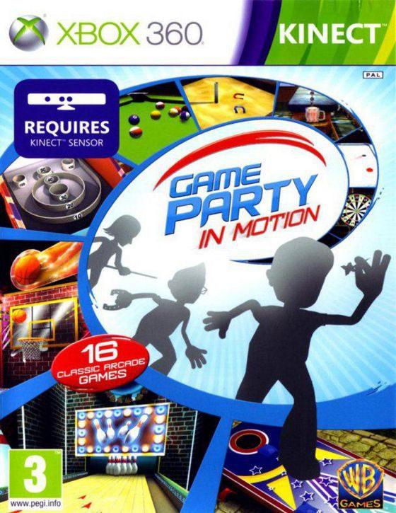 خرید بازی Game Party in Motion برای ایکس باکس 360 XBOX مخصوص کینکت