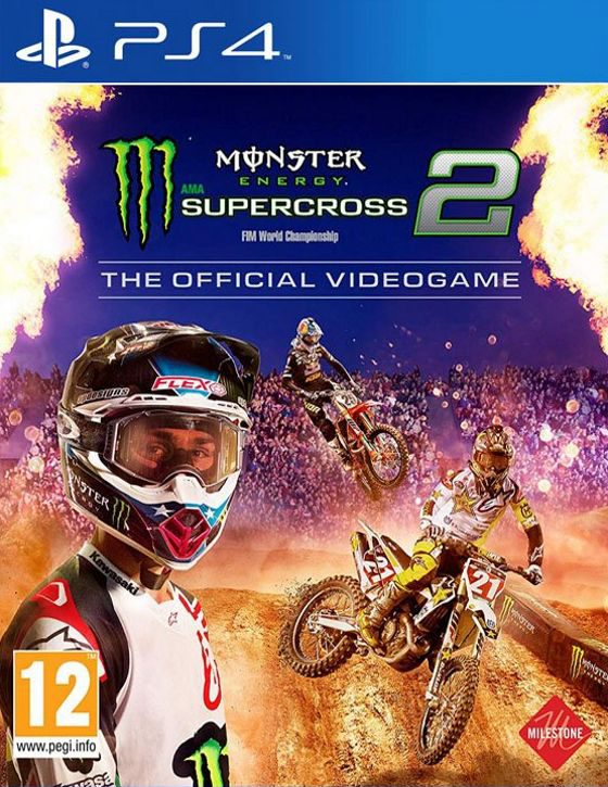 خرید بازی Monster Energy Supercross 2 برای PS4