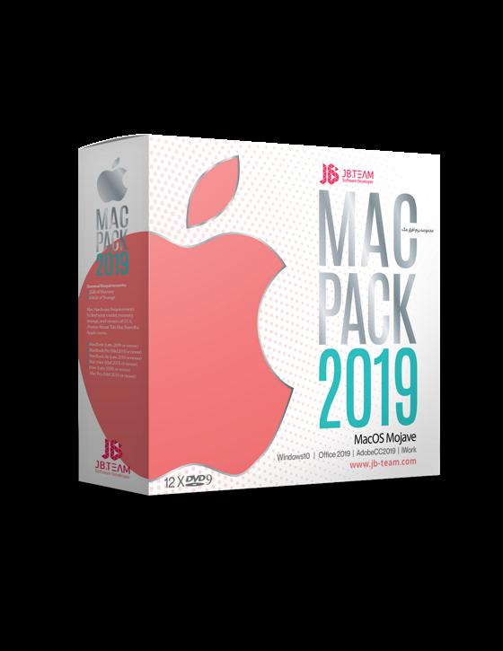 خرید مجموعه نرم افزار مکینتاش JB Mac Pack 2019