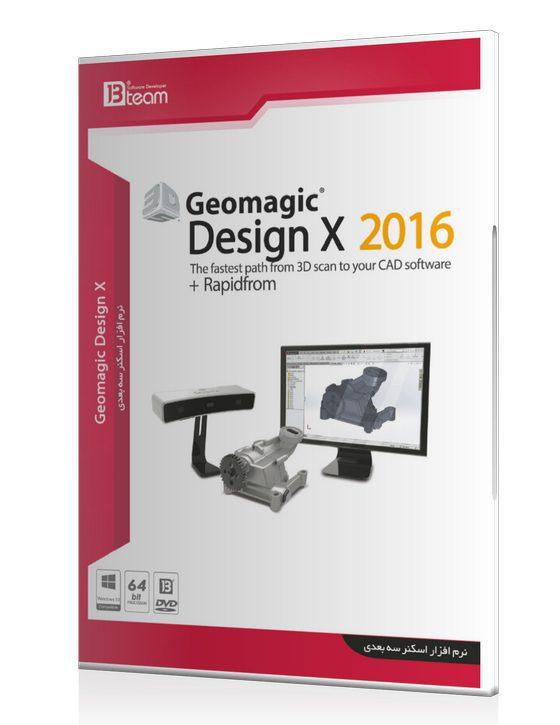 خرید مجموعه نرم افزار طراحی سه بعدی Geomagic Design X 2016