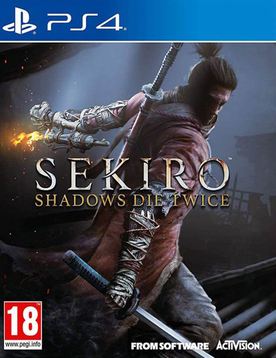 خرید بازی Sekiro Shadows Die Twice برای PS4