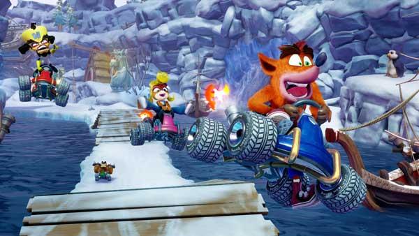 بازی Crash Team Racing Nitro Fueled
