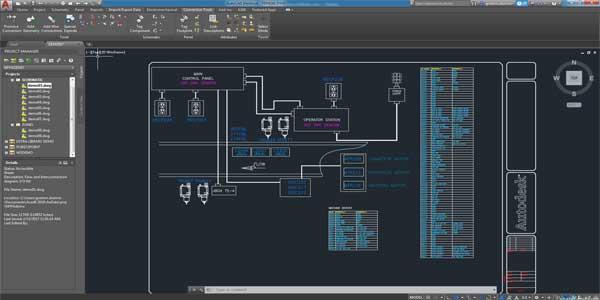 نرم افزار Autodesk Autocad Electrical   Mechanical 2022