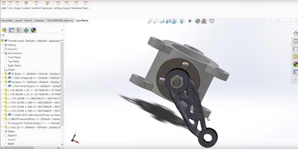 نرم افزار SolidWorks