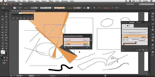 مجموعه نرم افزار ایلستریتور Adobe Photoshop Illustrator