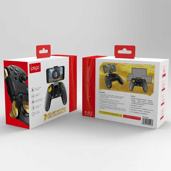 دسته بازی بلوتوثی مدل iPega PG-9118 Gold