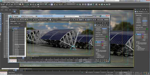 نرم افزار Autodesk 3ds Max 2022 به همراه V Ray