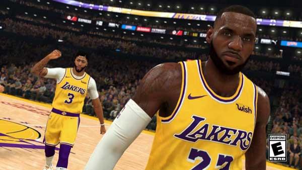 بازی کامپیوتری بسکتبال NBA 2K20