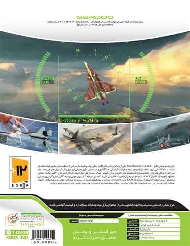 بازی Tom Clancys HAWX2 XBOX 360