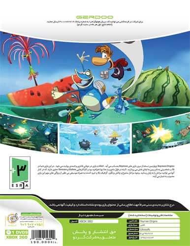بازی Rayman Origins XBOX 360