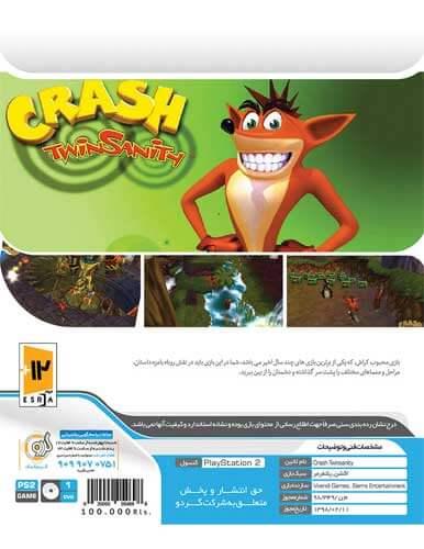 خرید بازی کراش Crash TwinSanity کنسول PS2