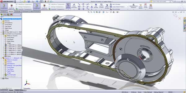 نرم افزار مهندسی SolidWorks