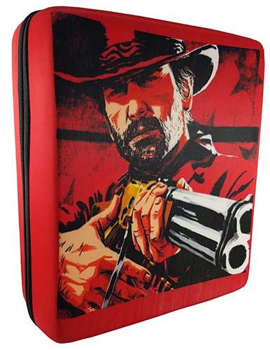 کیف محافظ ps4 طرح Red Dead Redemption