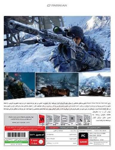 بازی Sniper Ghost Warrior Contracts نشر پرنیان