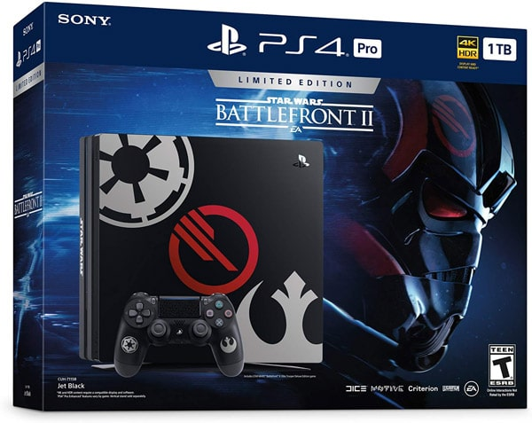 کنسول پلی استیشن 4 پرو باندل Star Wars Battlefront