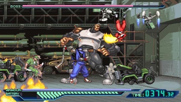 بازی The Ninja Saviors Return of the Warriors نینتندو سوییچ