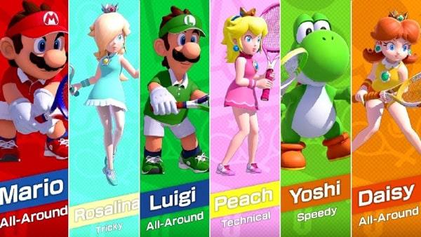 بازی Mario Tennis Aces نینتندو سوییچ