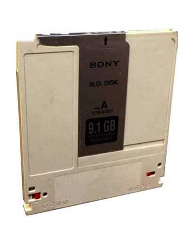 دیسک مگنتو اپتیکال سونی مدل EDM-9100C