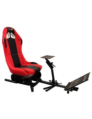 نمونه قرمز صندلی شبیه ساز بازی ریسینگ مدل playstation edition GTS 42