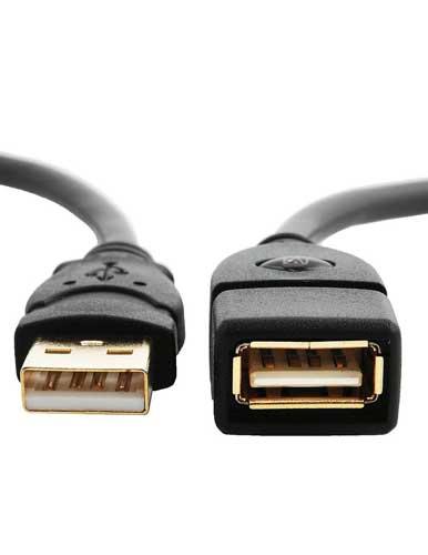 کابل USB 2 مدلST-EX1 به طول 10 سانتی متر
