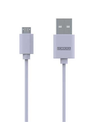 کابل تبدیل USB به MicroUSB روموس مدل CB1 طول 0.3 متر