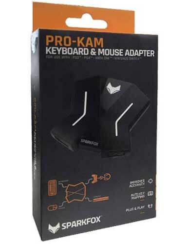 مبدل ماوس و کیبورد اسپارکس فاکس مدل Pro Kam