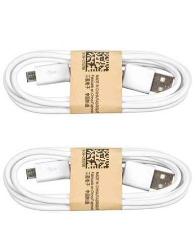 کابل تبدیل USB به microUSB مدل ECB DU4AWE طول 0.9 متر